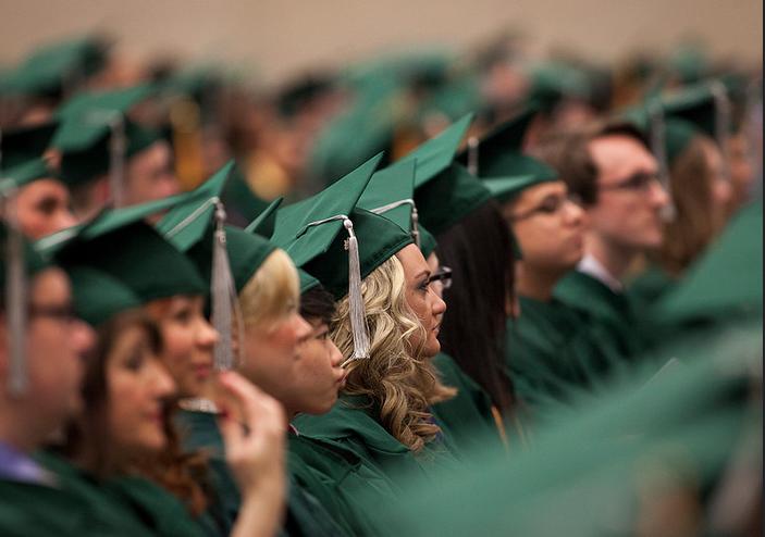 Higher Education graduation