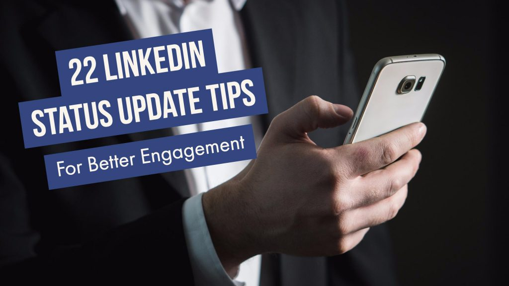 Linkedin Status Update Tips