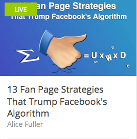 13 Fan Page Strategies That Trump Facebook's Algorithm