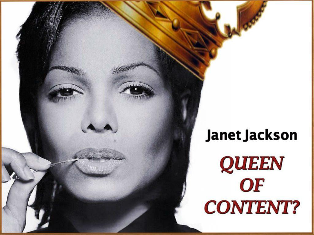 Janet-Jackson queen of content