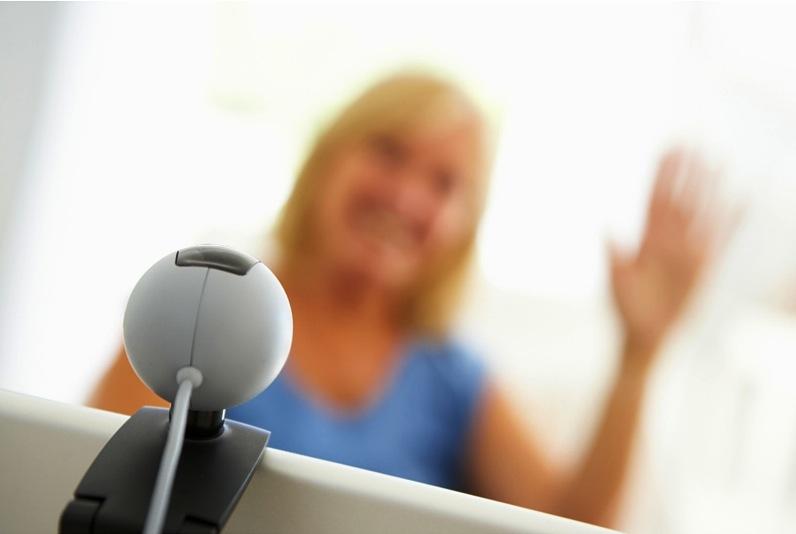 webcam Video Job Interview