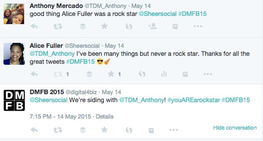 tweeted testimonials
