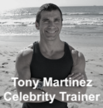 Trainer Tony Martinez